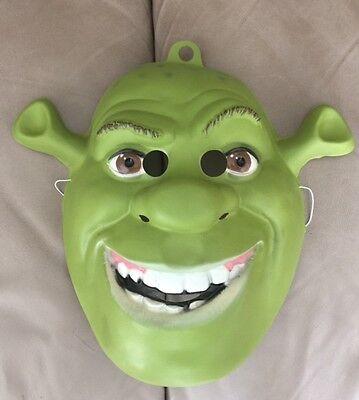 Shrek Costume (Shrek Ogre PVC Adult Costume Mask Rubies Licensed)