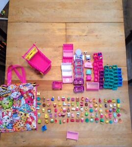An Incredible Lot 98 Shopkins and Accessories