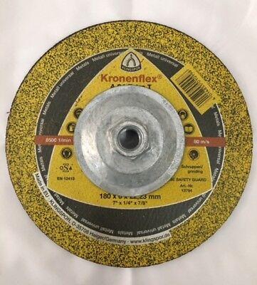 Klingspor Kronenflex A24 Extra T Grinding Disc For All Metals 7-0