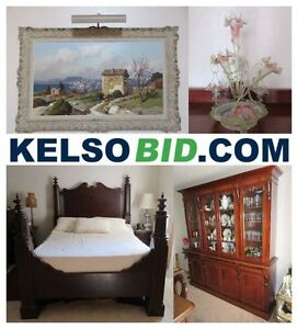 KELSOBID Hosting Estate Antique Online Auction