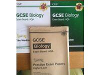 CGP, GCSE biology 3packs