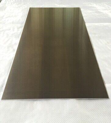 18 .125 Aluminum Sheet Plate 12 X 24 5052