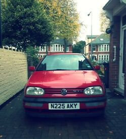 Fantastic GOLF, VERY low mileage & in superb condition. MOT valid until April 2017.