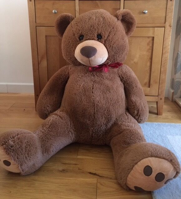 Big Plush Personalized Giant 5 Foot Teddy Bear Premium