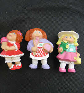 """1984 CABBAGE PATCH KIDS 2.5"""" PVC FIGURES - COLLECTOR CONDITION"""