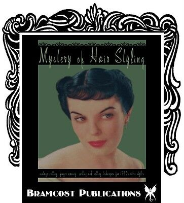 1950s Hairstyle Book, Comer (Vintage Retro Hairstyling)