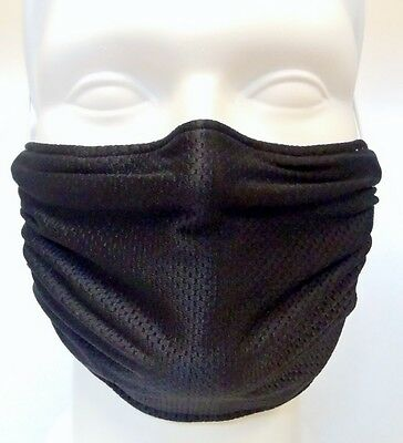 Black Comfy Mask By Breathe Healthy  For Dust  Pollen   Allergy Relief
