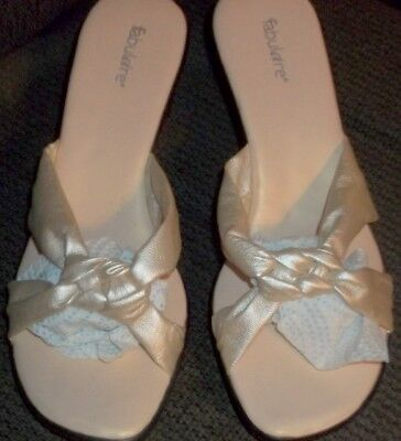Fabulaire Gold shoes ** New** Size 81/2 for sale  Fayette