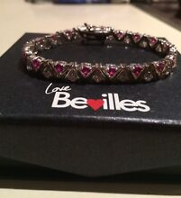 Bevilles sterling silver bracelet with diamonds Templestowe Manningham Area Preview