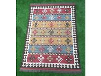 Kilim-style rug
