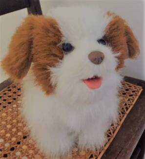 Hasbro FurReal Friends Plush Puppy Dog King Charles Interactive T