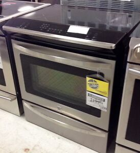 CLEARANCE Induction slide in range at Sears
