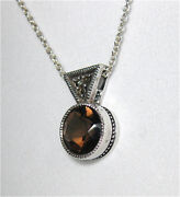 Judith Jack Marcasite Necklace