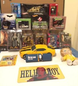 14 REALLY COOL COLLECTIBLES / ACTION FIGURES DIECAST CARS & MORE