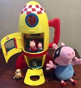 Peppa Pig Rocket & Pig Super Hero.. Adamstown Newcastle Area Preview