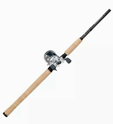 "Abu Garcia Ambassadeur 5500 S 6'6"" Medium Heavy Fishing Rod Reel Combo"