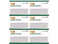 6 Vue Cinema Tickets expiry 3rd May 2017