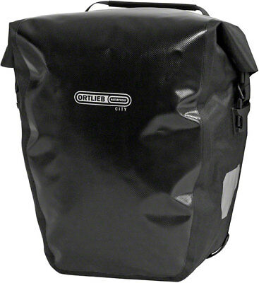 - New Ortlieb Back-Roller City Rear Pannier: Pair  Black Road Touring Bike