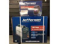 Jefferson 160 Amp Arc Welder 230V includes free electronic shield