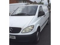 Mersedez vito LWB . ( Towbar and roof rack fitted)
