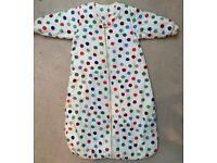 SLUMBERSACK BABY SLEEPING TRAVEL BAG WITH SLEEVES - 3.5 TOG (6-18 MONTHS)