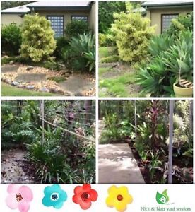 Nick & Nats garden yard maintenance service Bundall Gold Coast City Preview