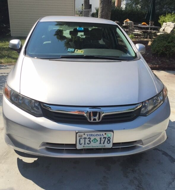 2012 Honda Civic  2012 CNG (Compressed Natural Gas) and Navigation System