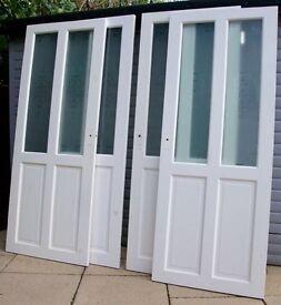Pine Doors Interior glazed - USED x 4