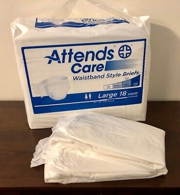 Vintage Attends with Waistband, Large Adult Diapers, Sample 2