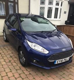 2016 Ford Fiesta 1.0 EcoBoost Zetec Turbo 3 door Hatchback