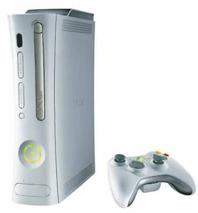 Xbox 360 with 1 controller and a few games