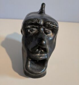 Sculpture Scared (Shocked Puzzled) with Mohawk (Reduced)
