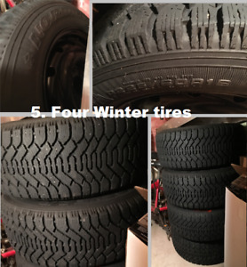 Tires, Car, bikes, and Funiture Sale
