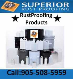 RUSTPROOFING PRODUCT SALES AND EQUIPMENT