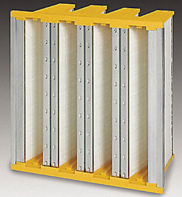 Loftier Quality 24x24x12 Air Conditioning Filter. V-Bank for Low Pressure Drop