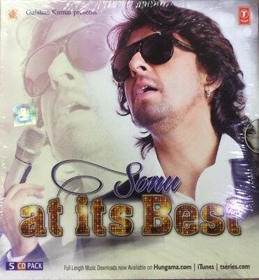 SONU NIGHAM AT ITS BEST - BEST OF SONU NIGAM (SET OF 5 CDS) 75