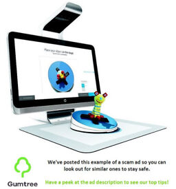 HP Sprout G2 3D Scanner -- Read the description before replying to this ad!!