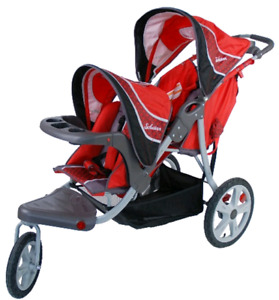 Schwinn Grand Safari double jogging stroller