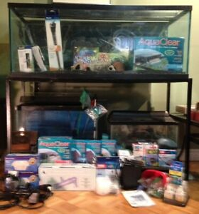 Complete  Aquarium Setups, 3 Different sizes and much more!