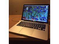 Macbook Pro Retina 13 inch - must be plugged in