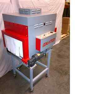 Used Shrink Wrappers: Seal-A-Tron L Sealer & Shrink Tunnel (104)