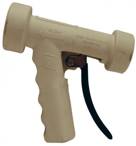 "DIXON AWSG-W Aluminum Hot Water Washdown Spray Nozzle 1/2"" F-NPT - White"