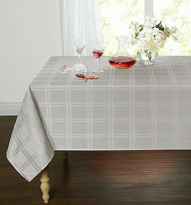 Plaid & Tartan Stain Resistant & Spill-Proof Fabric Tablecloth - Assorted Colors](Tartan Plaid Tablecloth)