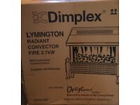 DIMPLEX LYMINGTON ELECTRIC FIRE BNIB