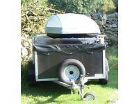 6x4x2ft trailer, lockable lid excellent condition.