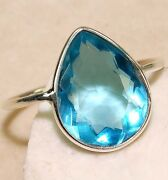 Aquamarine Ring Size 4