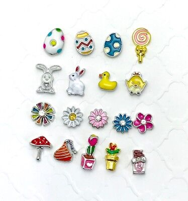 Easter charms for your origami owl lockets or any floating locket - Easter Jewelry