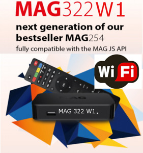 High Cable Bills? MAG 322W1 wireless & 4K resolution