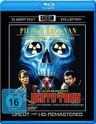 DEATH TRAIN - UNCUT Christopher Lee PIERCE BROSNAN Patrick Stewart BLU-RAY Neu online kaufen