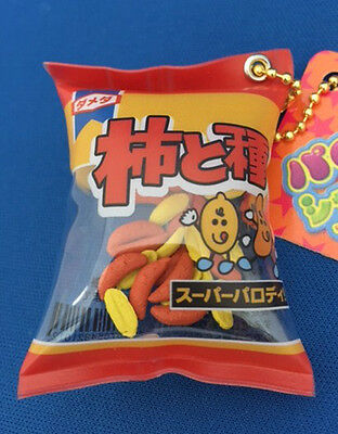 "Fake-food Strap Japanese Snacks""Spicy Rice Cracker"" Non squishy"